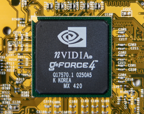GeForce4 MX420 chip