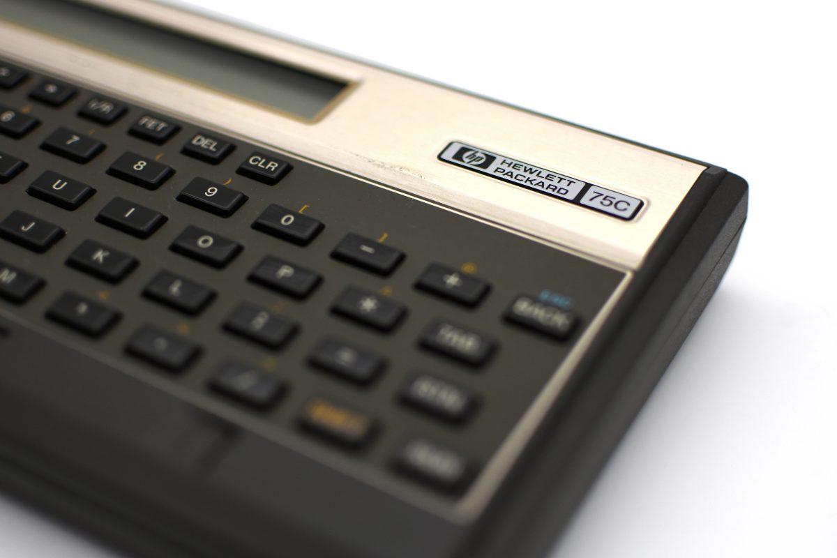 Hewlett-Packard's first handheld