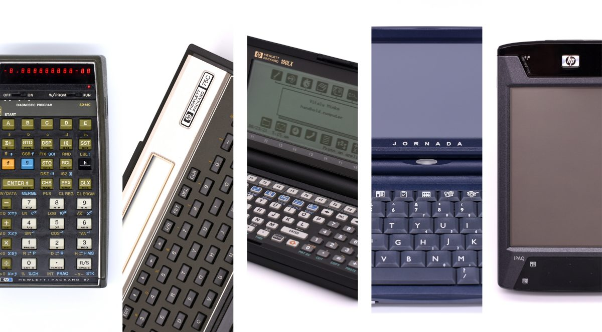Remarkable handhelds from Hewlett-Packard